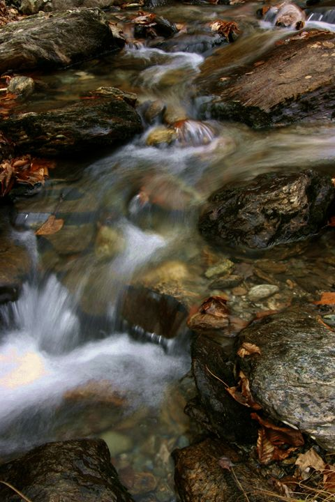Flowing Water II - Cantor Photography