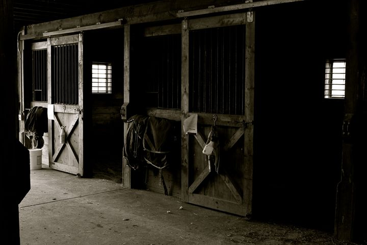 Barn in the Morning - Cantor Photography