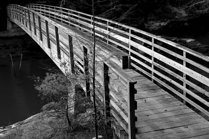 Footbridge II - Cantor Photography