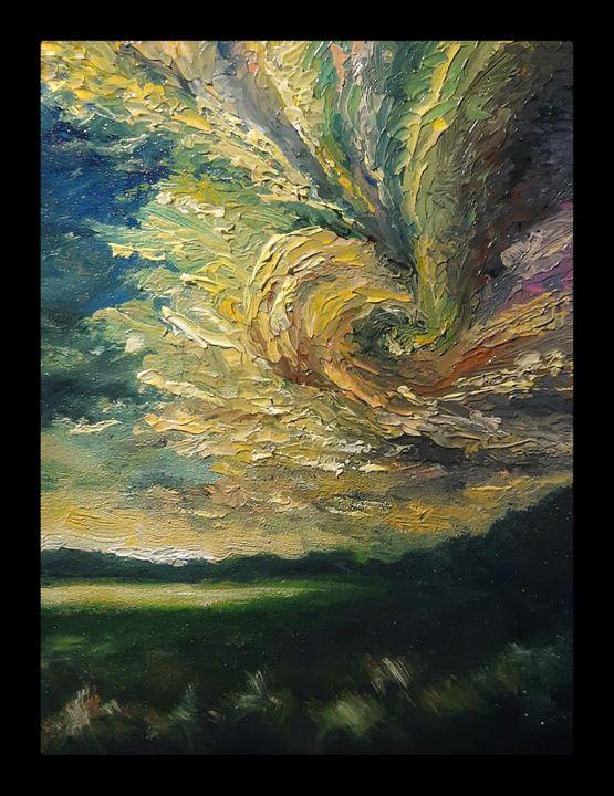 Swirling clouds - Sourav Majumder
