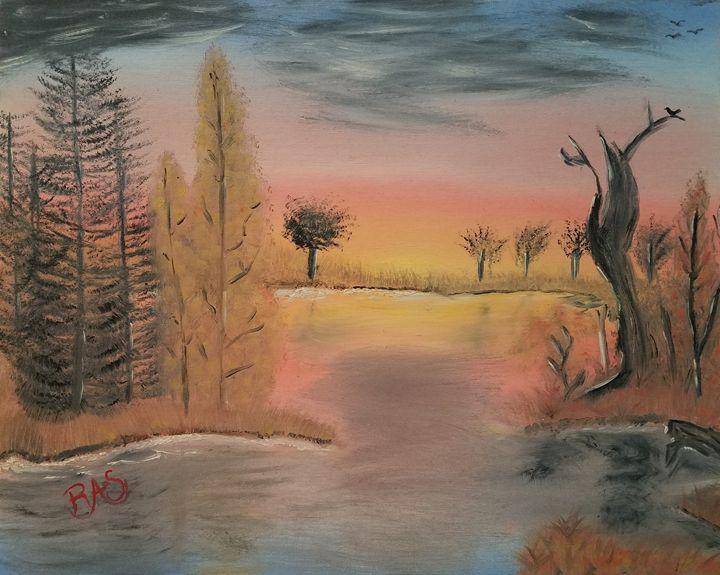 Beautiful Morning - Art by Rebecca Sanders
