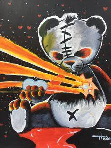 The Darkened Native Panda - The Art of Halo