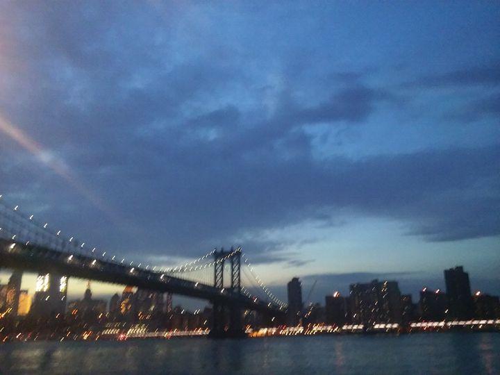 Summer nights by the bridge - SaintsandSlayers ( Dark Matter Comix)