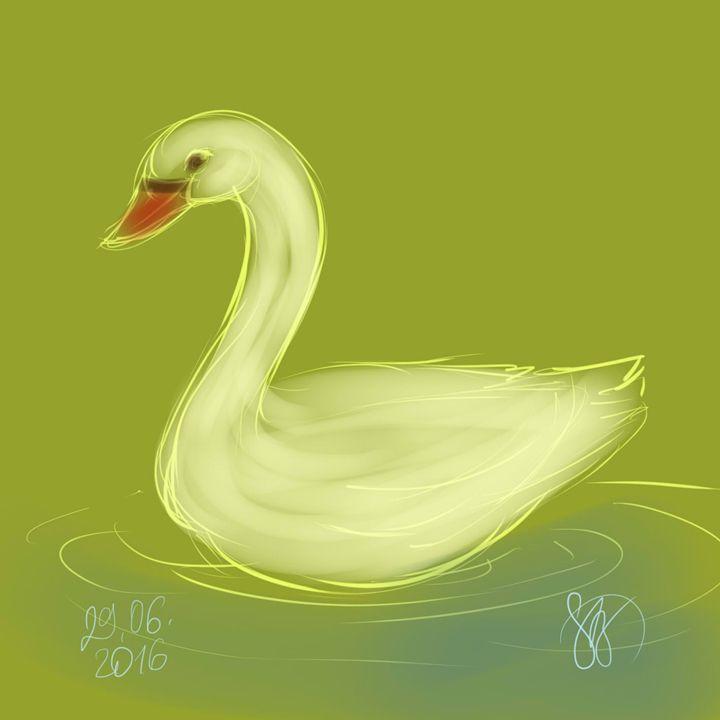 Swan - StrawBerry