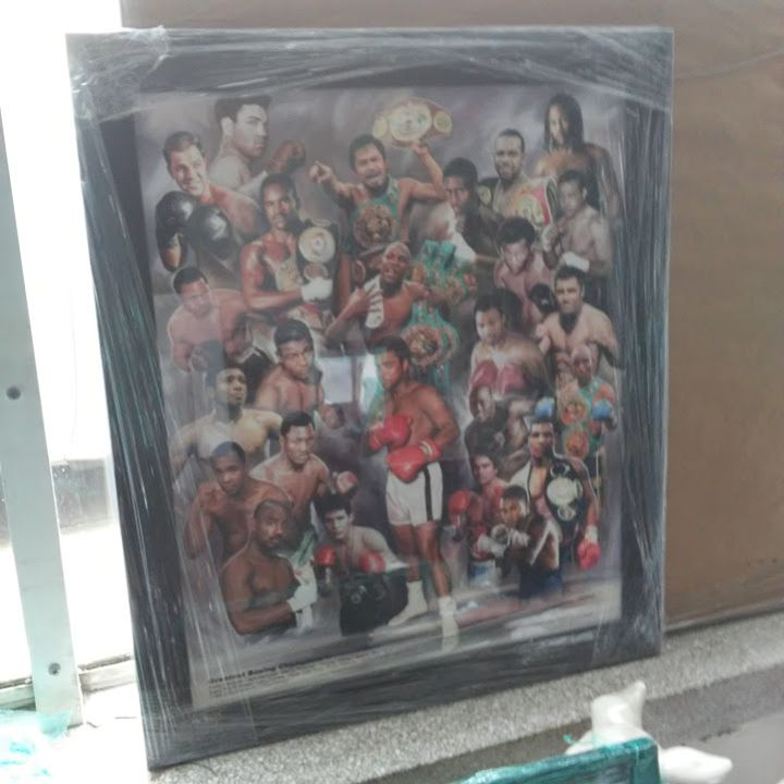 The Greatest Boxing Champions - Fine Black Art