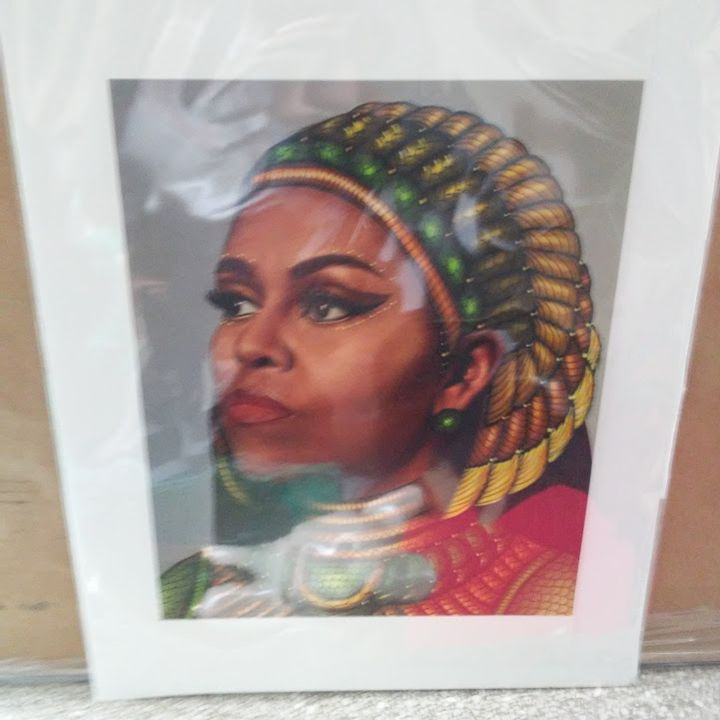 Controversial Queen print - Fineblackart.com