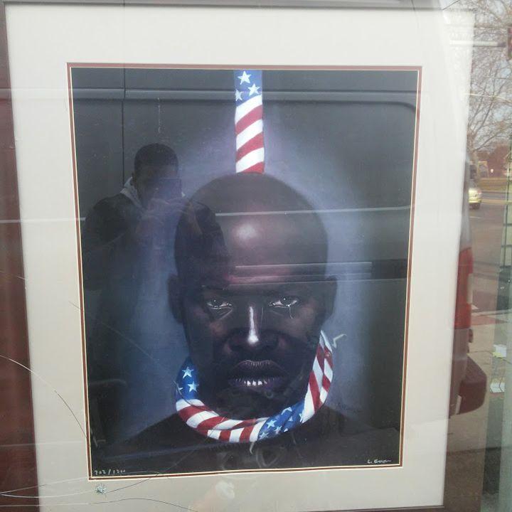 Black Man in America - Fineblackart.com