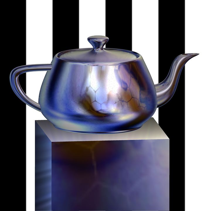 Teapot on Show - Yolanda Caporn Art