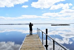 Lake Colac Reflections
