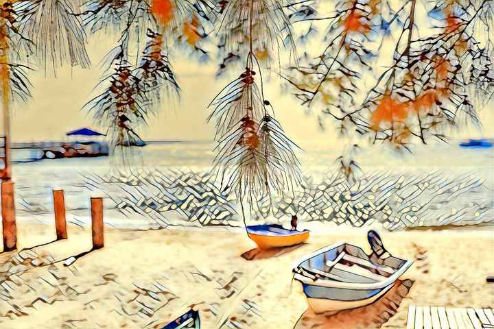 Beach vacation - Artnow