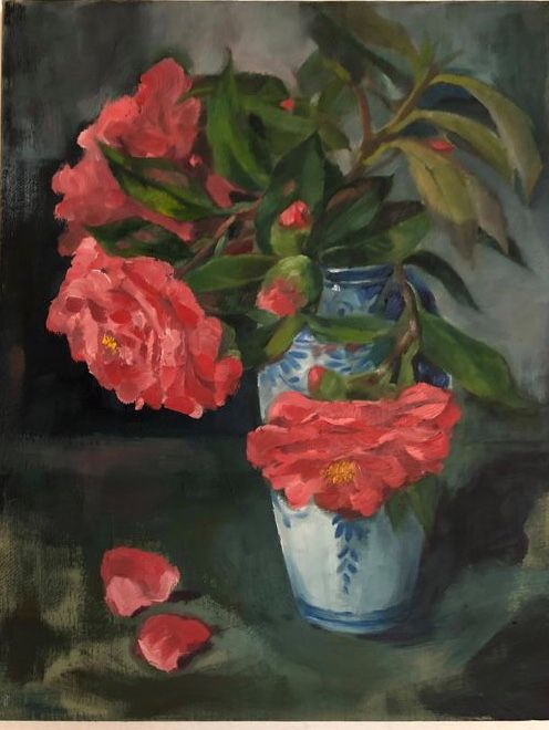 Red Camellia - Shuinart