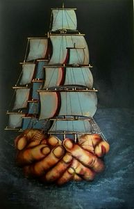 Surreal boat