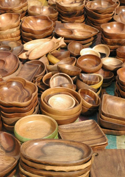Wooden Bowls - mijodo asian gallery
