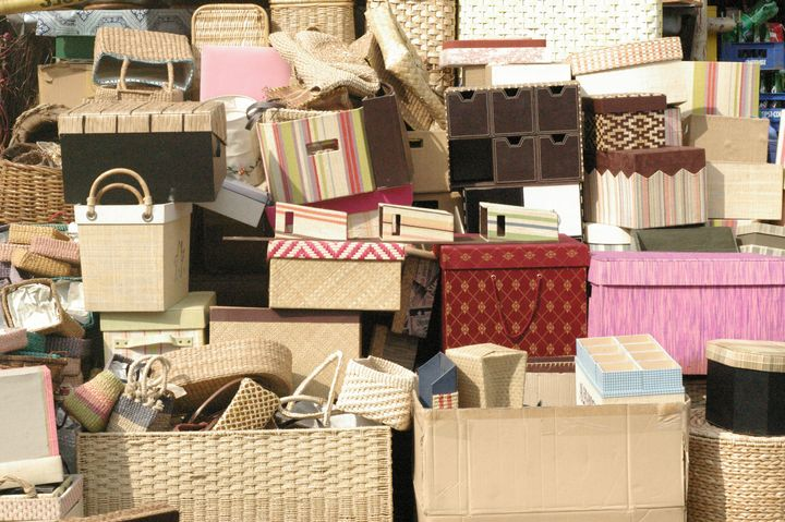 Bunch of Baskets and Boxes - mijodo asian gallery