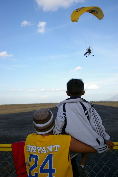 Father and Son at the Air Show - mijodo asian gallery
