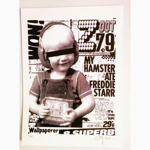 My hamster ate Freddie Starr