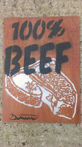 Dotmasters & Webbo 100% beef origina