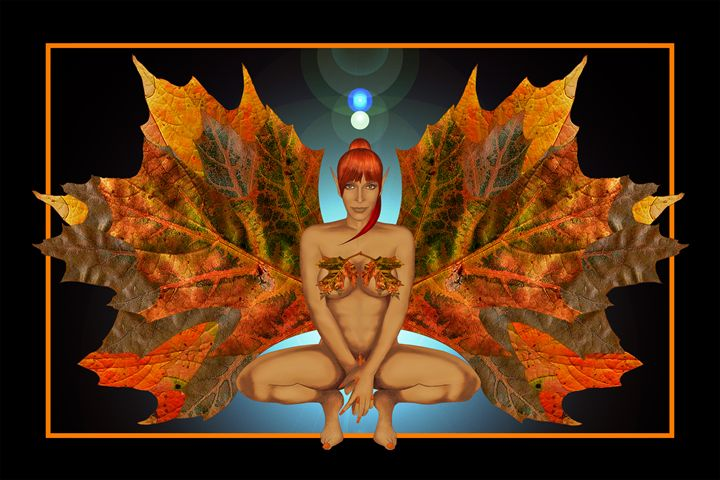 Fairies - Autumn Harvester - Nelson Pawlak