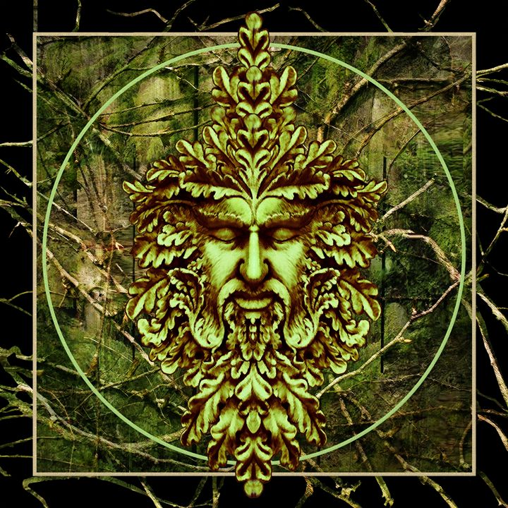 Green Man II - Watcher of the Trees - Nelson Pawlak