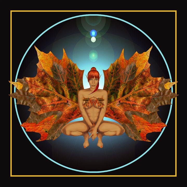 Fairies - Autumn Harvester II - Nelson Pawlak
