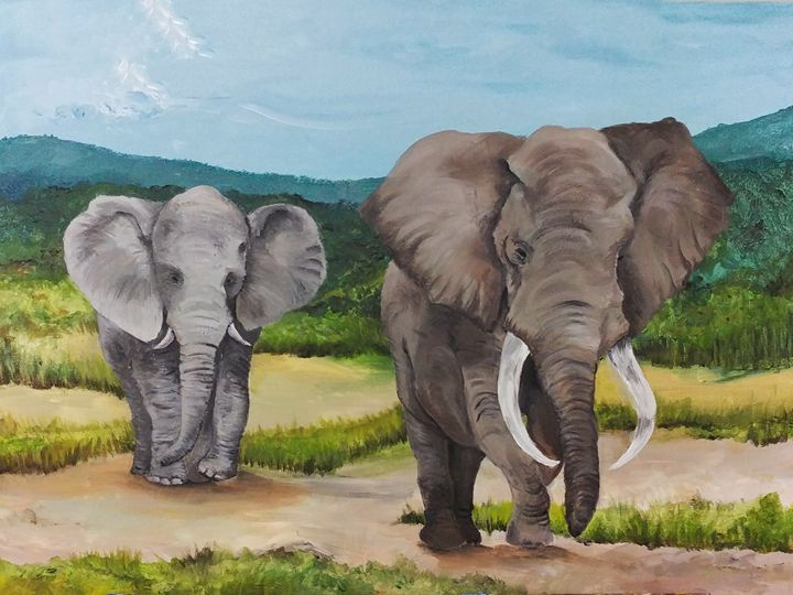 Elephant walk - Amanda's Imaginarium