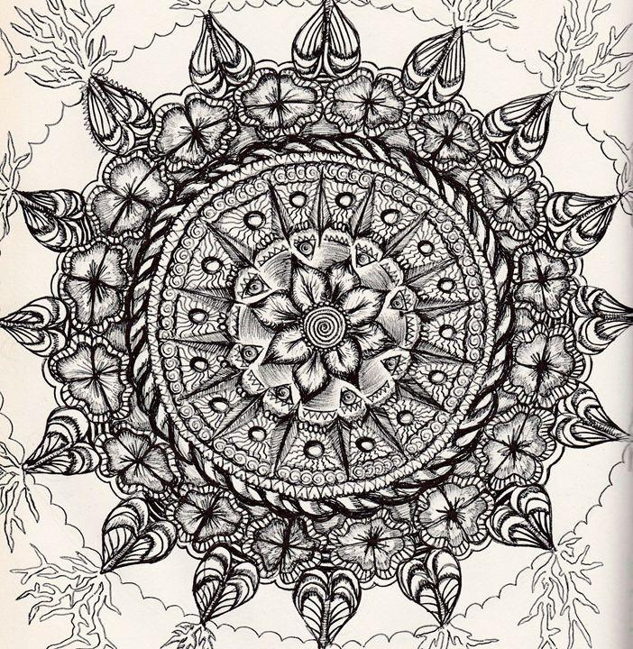 Flowers Mandala - Amanda's Imaginarium