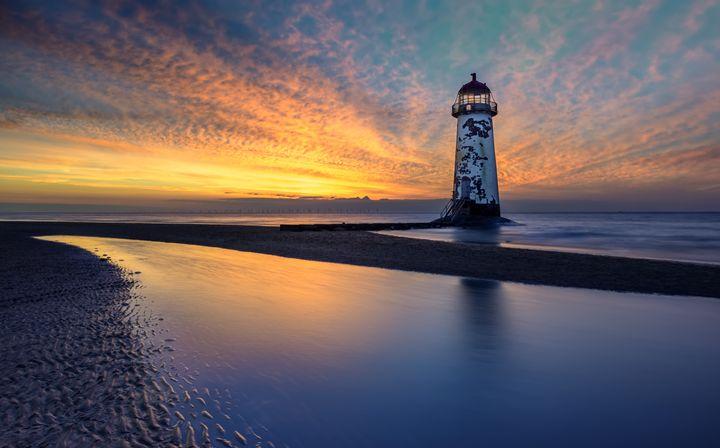 Sunset Lighthouse - Adrian Evans Photography