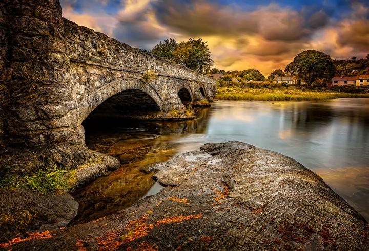 Pont Pen-y-llyn Bridge Snowdonia - Adrian Evans Photography