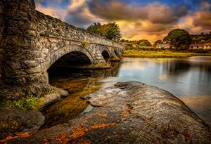 Pont Pen-y-llyn Bridge Snowdonia