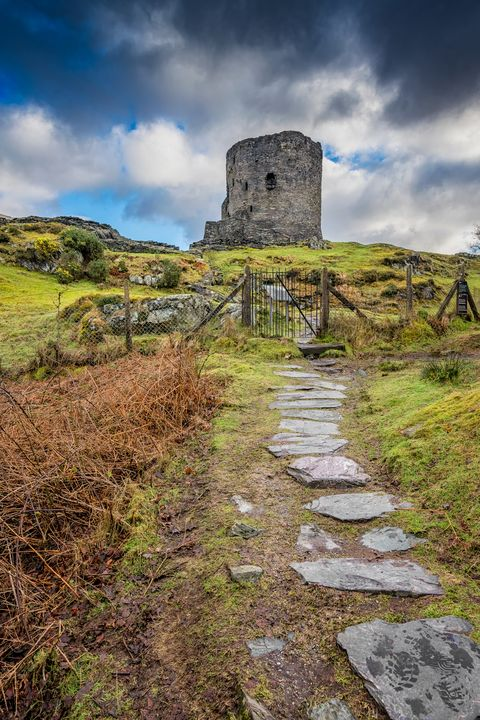 Dolbadarn Castle Snowdonia - Adrian Evans Photography