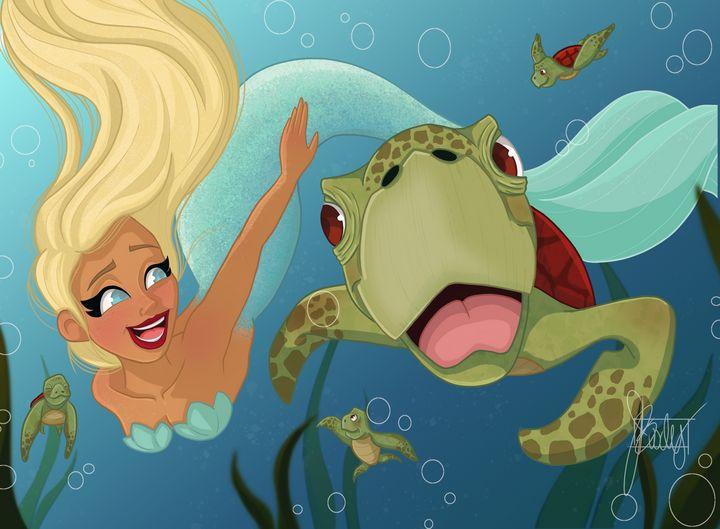 MerMay - Turtles - Art of Jessica Bixby