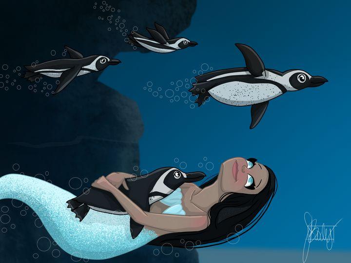 MerMay - Penguins - Art of Jessica Bixby