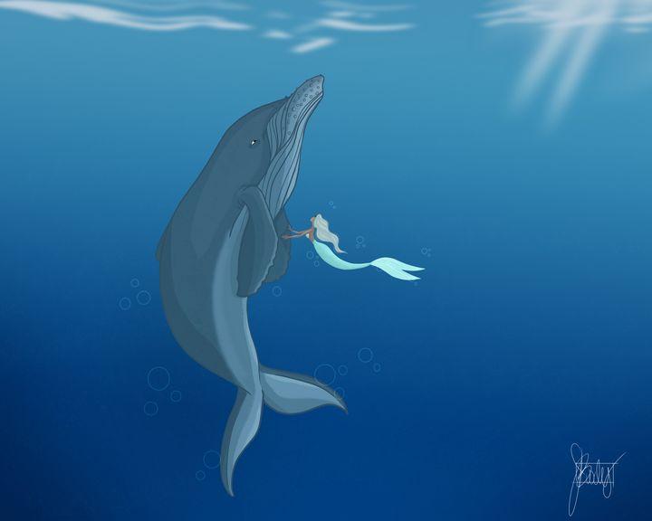 MerMay - Whale - Art of Jessica Bixby