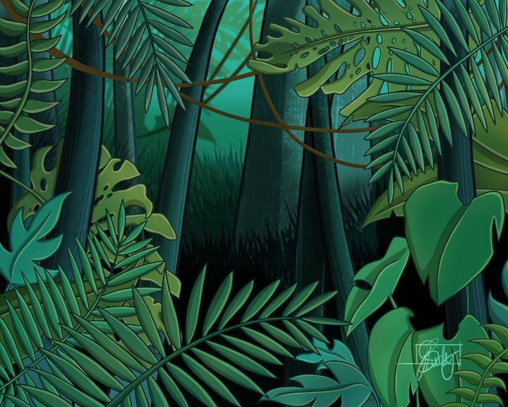 Rainforest - Normal - Art of Jessica Bixby