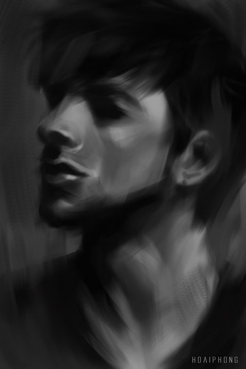 Digital Portrait - Digital Painting