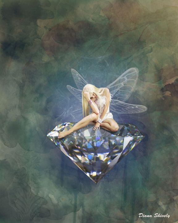 Diamond Dust fairy - Dianasartworks