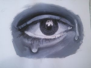 Weeping eye