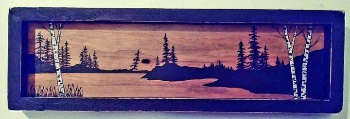 Birch Lake - Deb Vack Studio