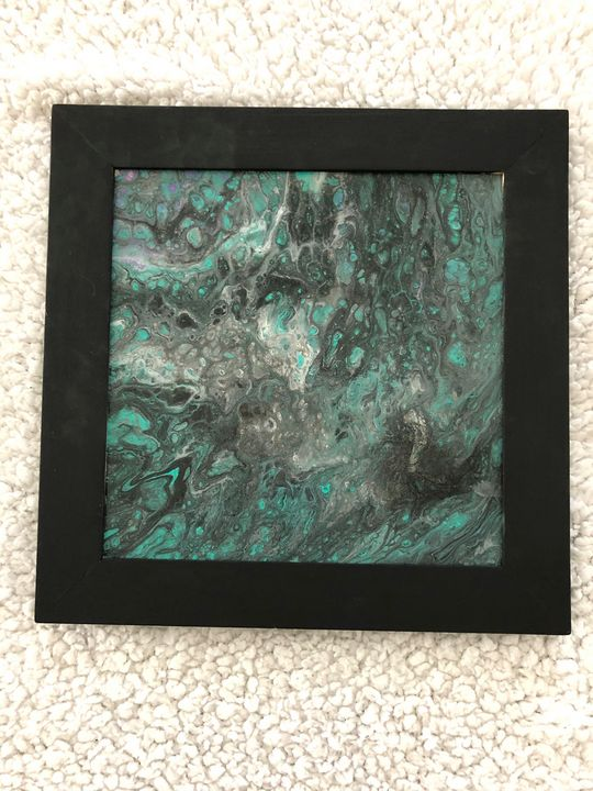 Abstract art - Pam's Paint Pouring