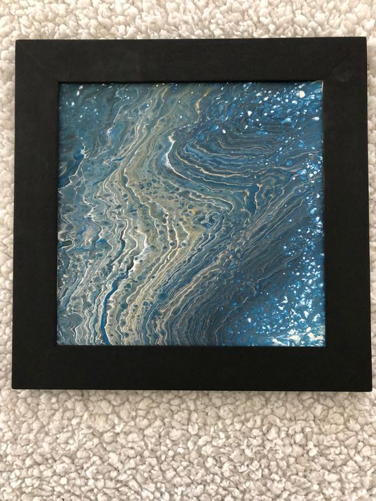 Making waves - Pam's Paint Pouring