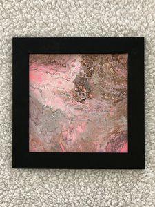 Carmel pink animal print