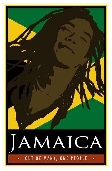 Jamiaca - Vintage Travel by Kevin Brown Studio
