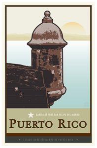 Puerto Rico II - Vintage Travel by Kevin Brown Studio