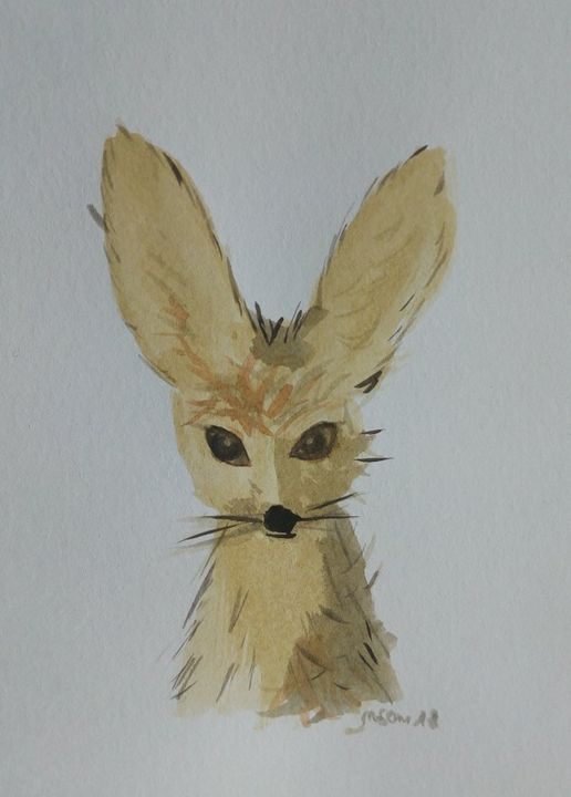 Fox - rudebird