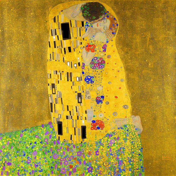 Gustav Klimt The Kiss - Jon Baran