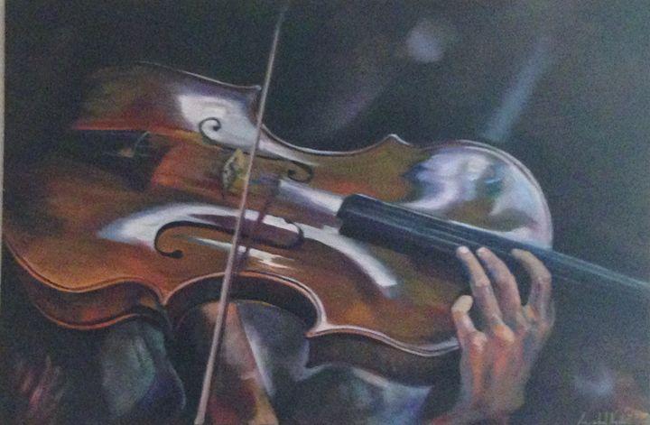 dancing the strings - Annabel Nesbitt