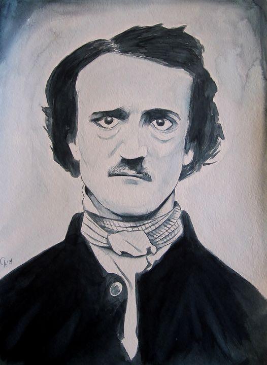 Edgar Allan Poe - Paintings by Cable Angel