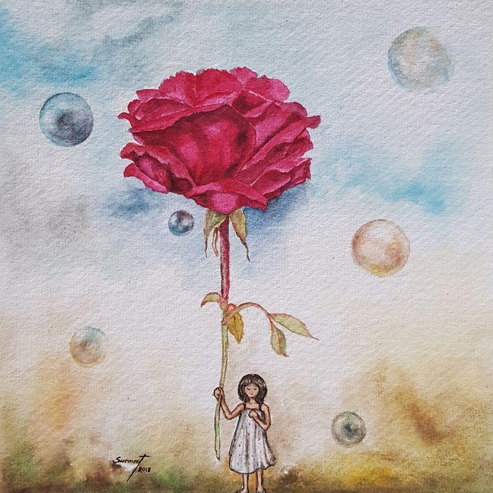 'Rosa Indica' - Surmeet