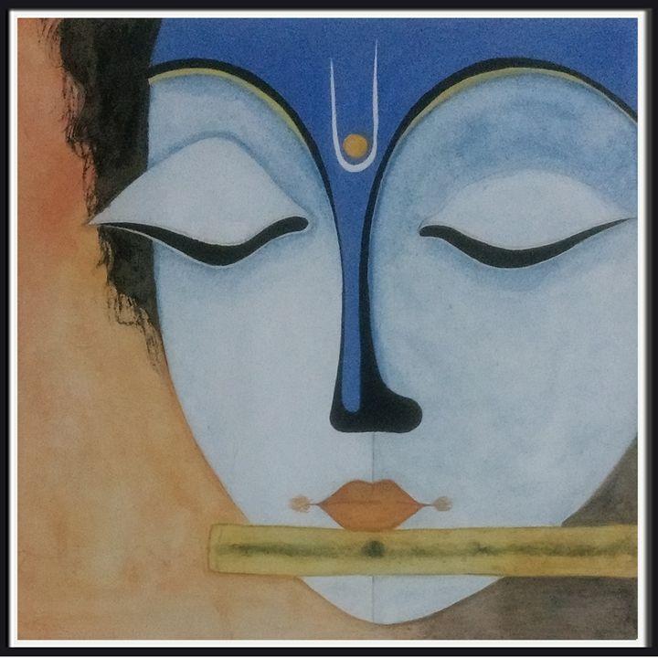 Lord Krishna ! - Art & Crafts !