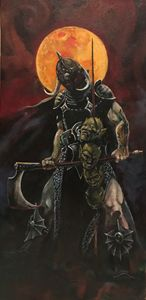 Death Dealer a tribute to F Frazetta